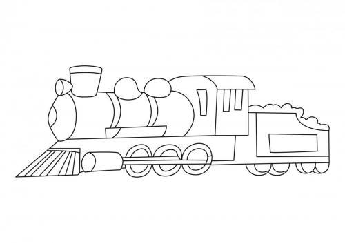 treno colorato
