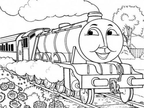 treno disegno