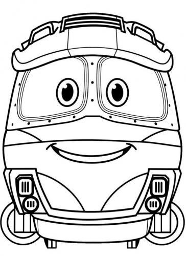 treno stilizzato