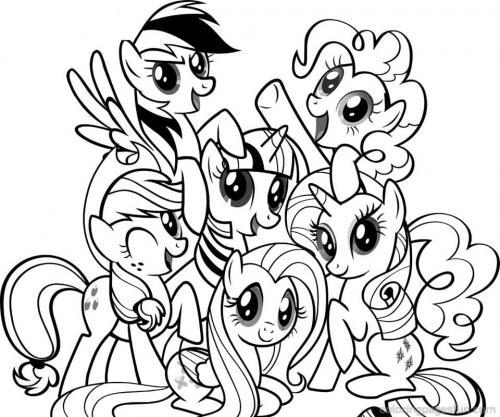Tutti i personaggi di My Little Pony