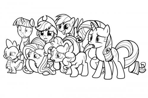 Tutti i pony di My Little Pony