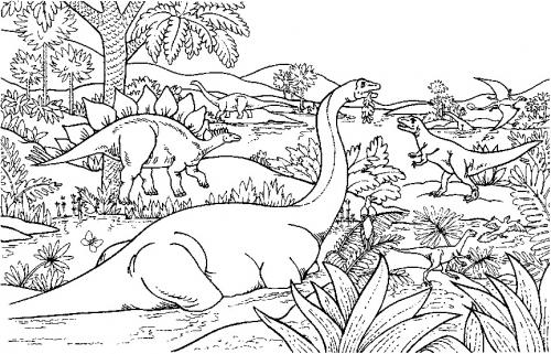 tutti i tipi di dinosauri