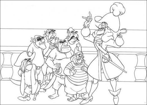 Capitan Uncino e i pirati