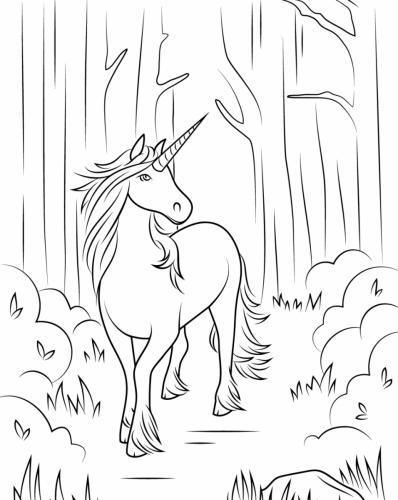 unicorni animati