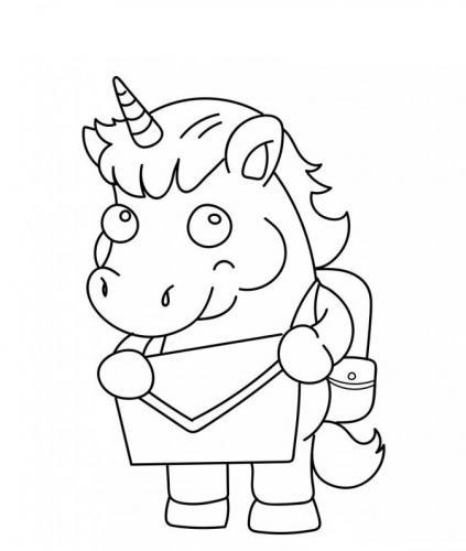 unicorni cartoni animati