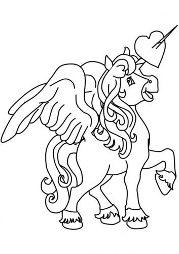 unicorni con le ali