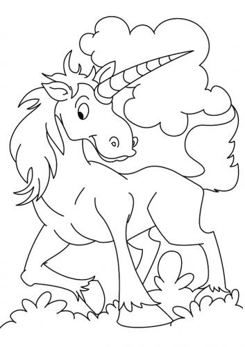 unicorni da colorare e stampare