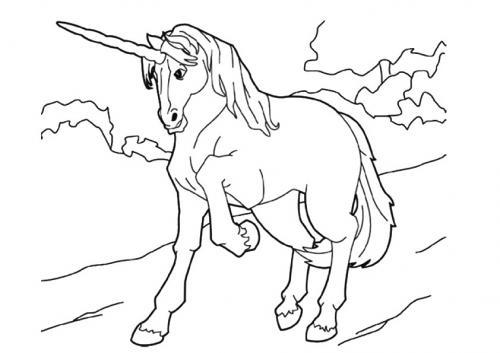 unicorni da stampare