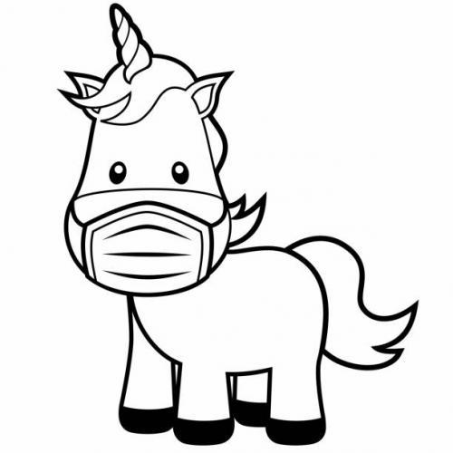 unicorno buffo