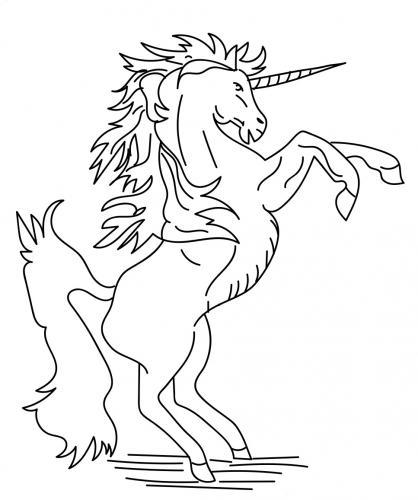 unicorno da stampare e colorare