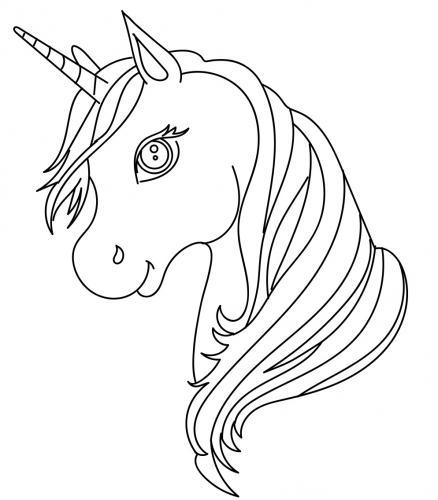 unicorno di profilo