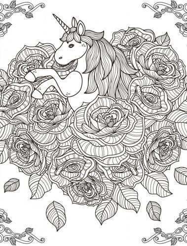 unicorno stilizzato
