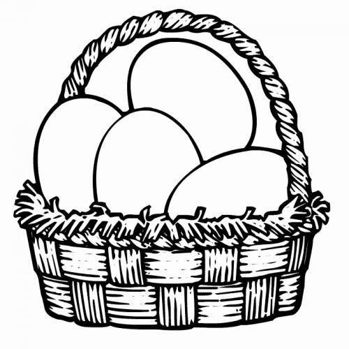 uova di pasqua da colorare gratis