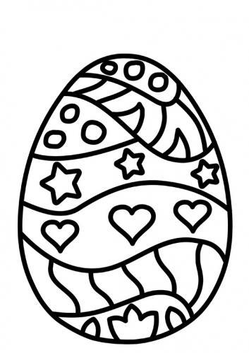 uova di pasqua da disegnare