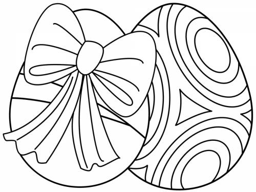uova di pasqua da stampare e colorare