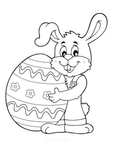 uovo con coniglio