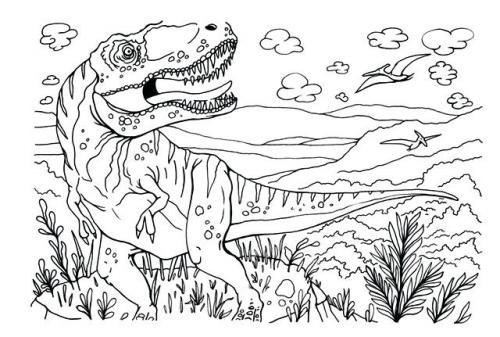 velociraptor disegni