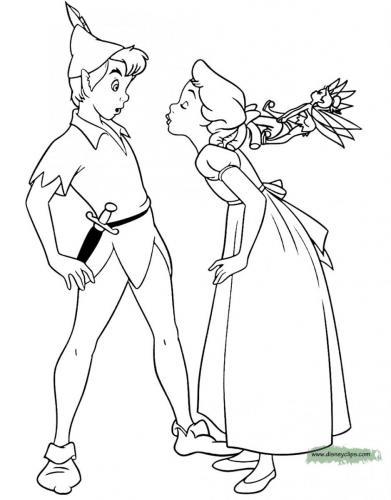 Wendy bacia Peter