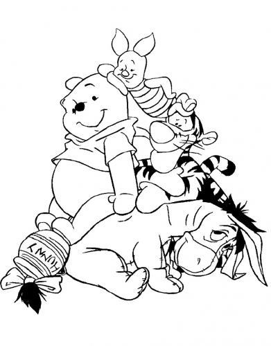 winnie the pooh da colorare online