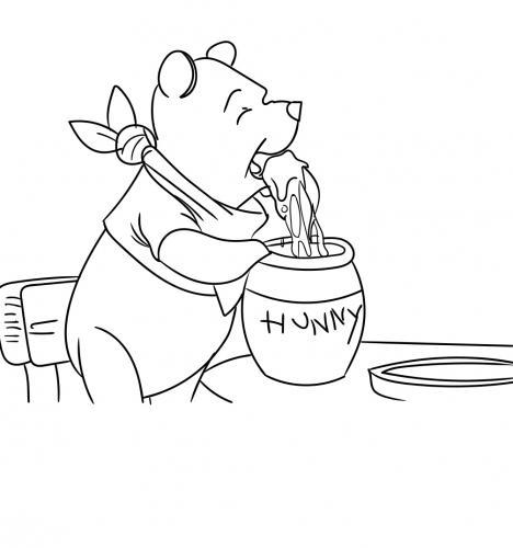 winnie the pooh e il miele