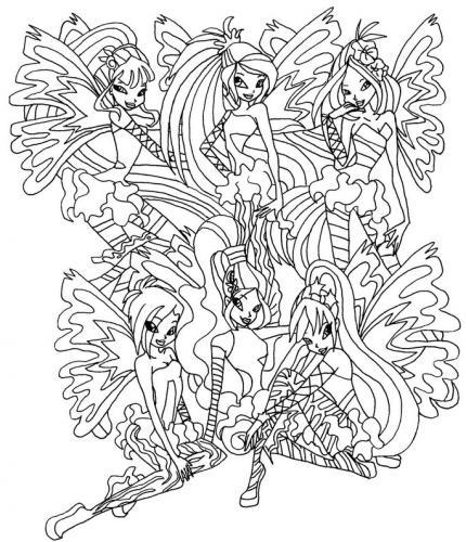 gruppo delle winx sirenix