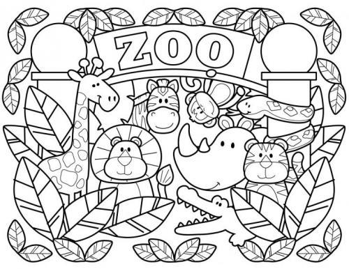zoo con animali